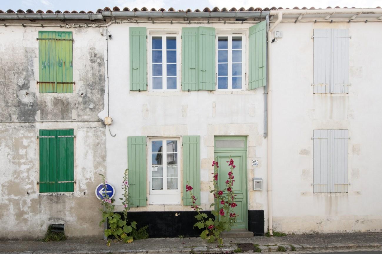 Location Maison Ile de Ré - Le Patio - Facade
