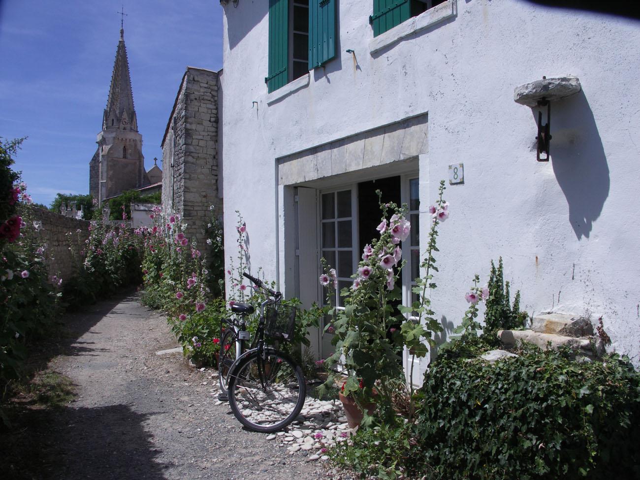 Location Maison Ile de Ré - Marceane - Façade 2