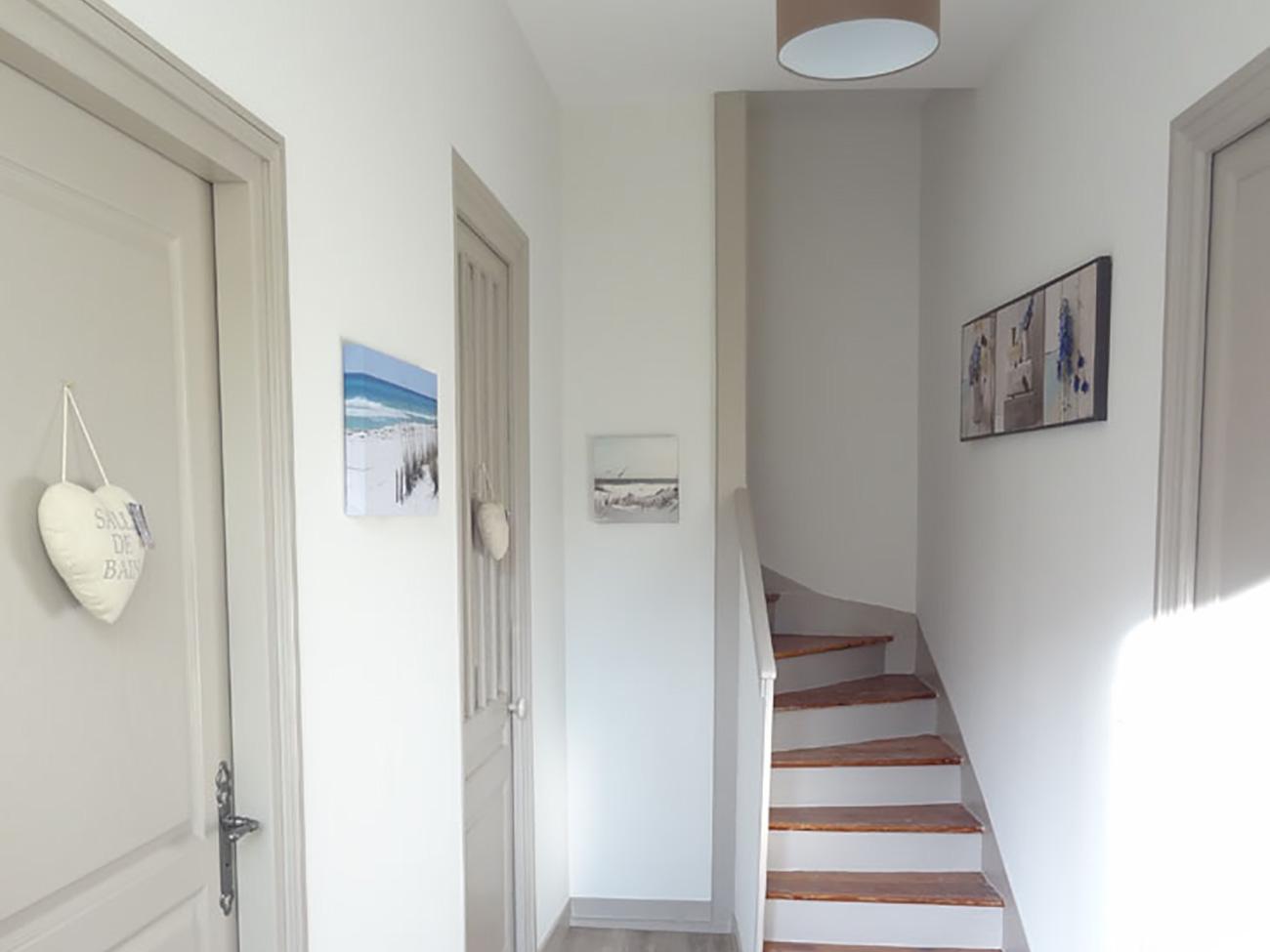 Location Maison Ile de Ré - Santoline - Escalier