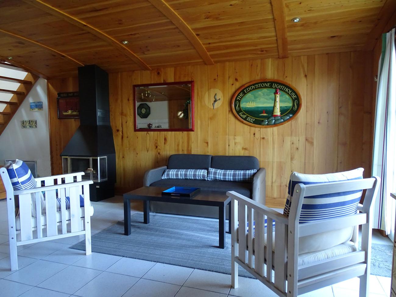 Location Maison Ile de Ré - Trémière -Salon