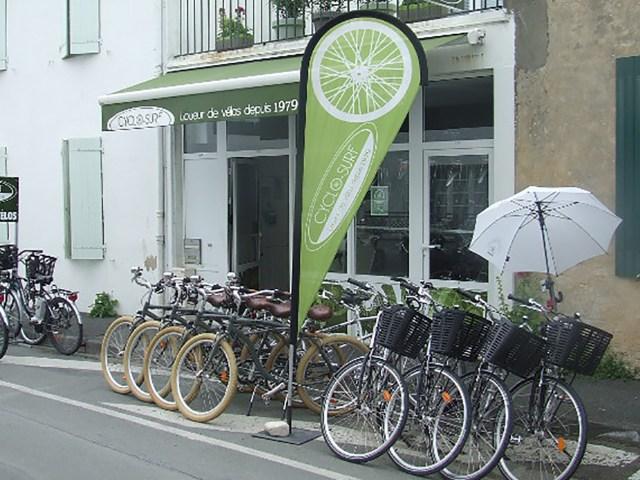 Île de Ré - Location vélo - Cyclosurf