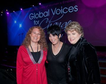with Sue Fabisch and Diane Warren