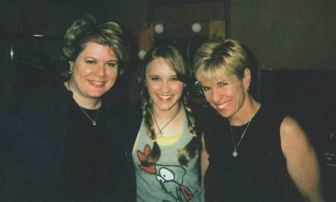 with Emily Osment and Jill Angel