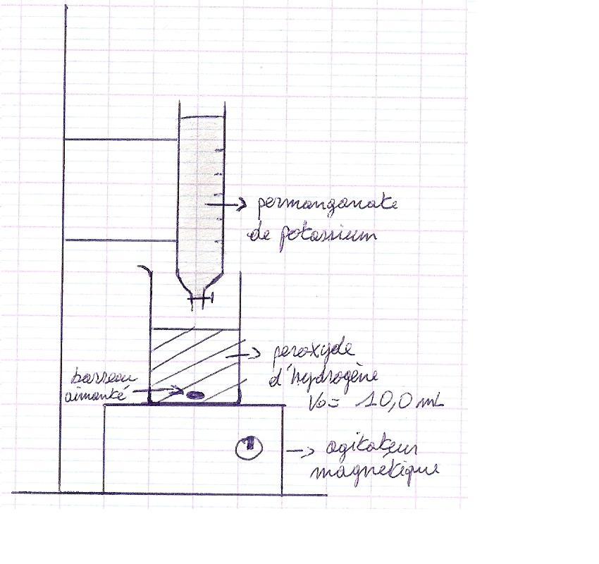 Décomposition de l'eau oxygénée – sil2b - Forum - ilephysique.net