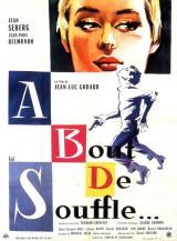 Une star est née : Belmondo dans À bout de souffle.