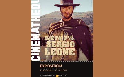 Exposition Sergio Léone, Cinémathèque Française (10.10.2018>27.01.2019)