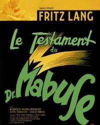Le testament du Docteur Mabuse