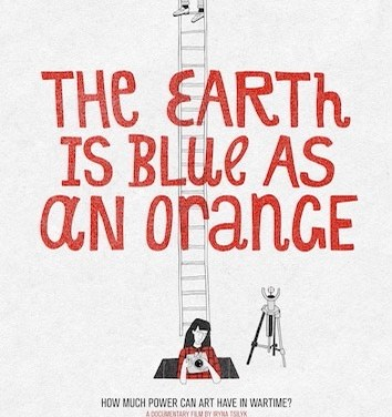 THE EARTH IS BLUE AS AN ORANGE