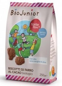 biojunior biscotti farro cacao