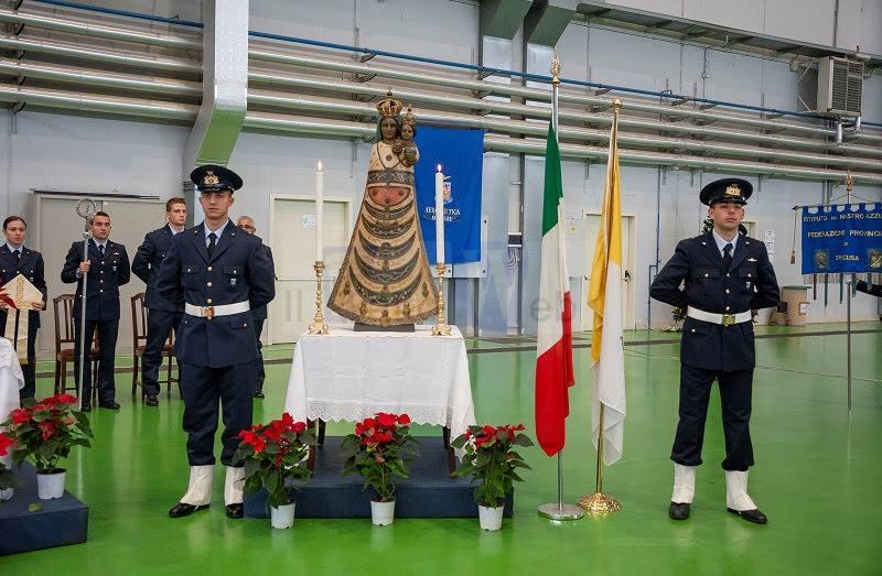 Sigonella celebra la Madonna di Loreto, Patrona dell'Aeronautica Militare e di tutti gli Aviatori