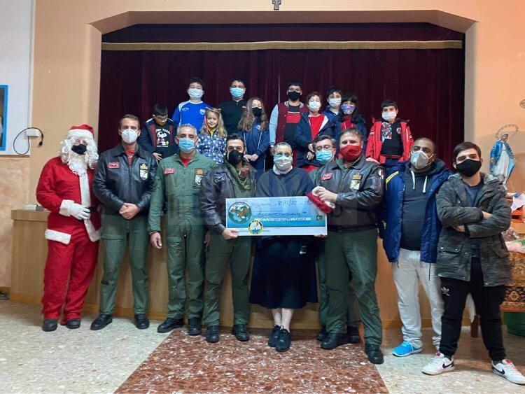 Aeronautica Militare: beneficenza e solidarietà in favore dell'Istituto San Giuseppe di Catania