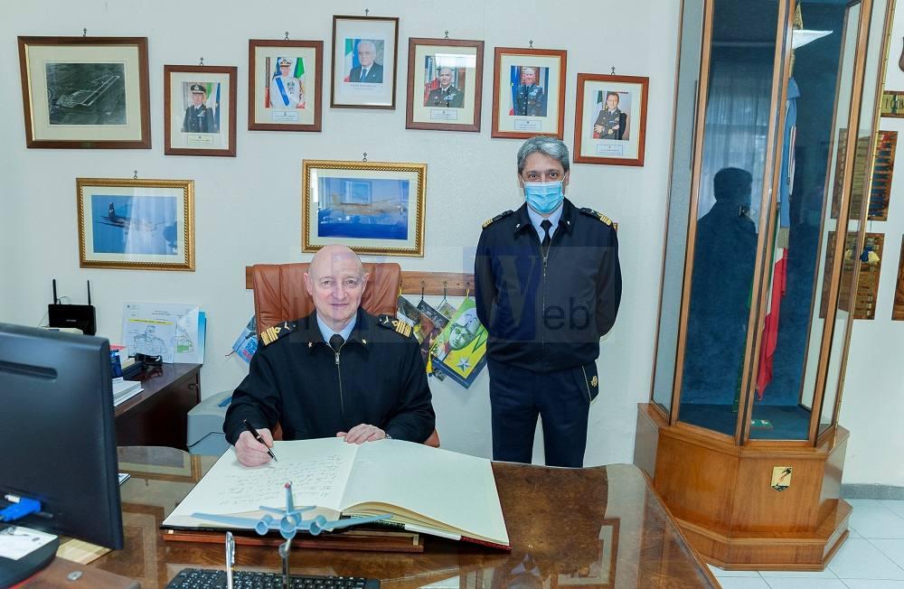A Sigonella la visita del Sottocapo dell'Aeronautica Militare Gen. Goretti