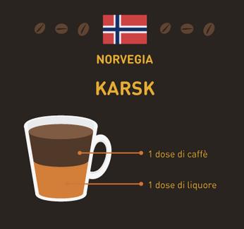 caffè del mondo Norvegia