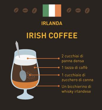 caffè del mondo Irlanda