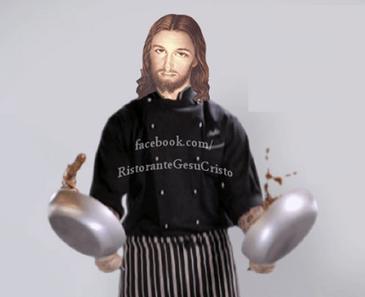 gesù cucinava