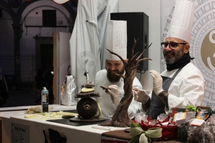 fiera del cioccolato - cooking show il forchettiere