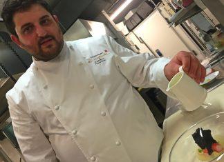 Chef Cristoforo Trapani La Magnolia dell'hotel Byron