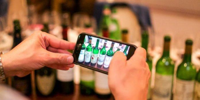 degustare il vino in streaming