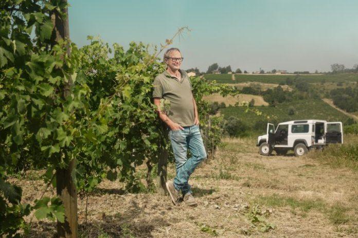 Walter Massa of Vigneti Massa (Piemont, Italy) for Simple Wine News magazine timorasso