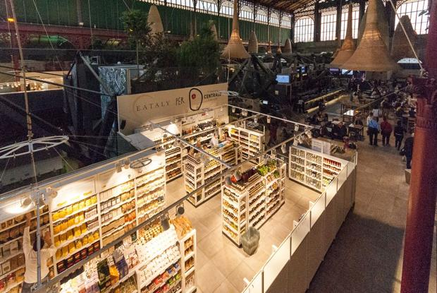 Eataly. Mercato Centrale di Firenze, 24 aprile 2014. Foto di Ugo De Berti