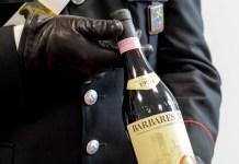 furto bottiglie pregiate