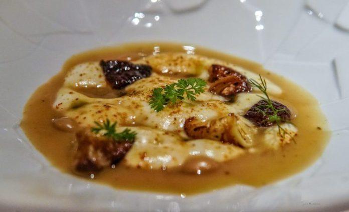 cucina gourmet di chef Filippo Baroni Mater