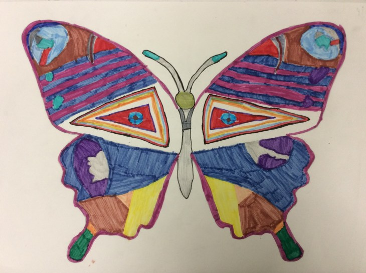 Ilfracombe Museum Butterfly Design Competition 6