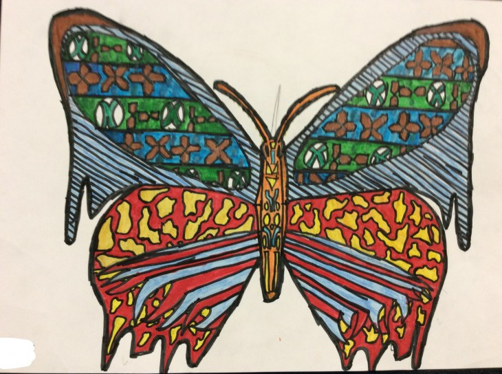 Ilfracombe Museum Butterfly Design Competition (75)