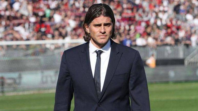 L'allenatore del Palermo Diego Lopez