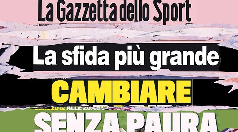 AD della Gazzetta dello Sport