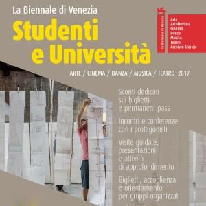 Biennale di Venezia 2017 - Studenti e università