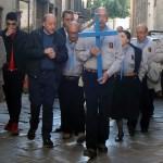 Fa tappa a Palermo la Croce di Lampedusa, realizzata con il legno dei barconi dei migranti