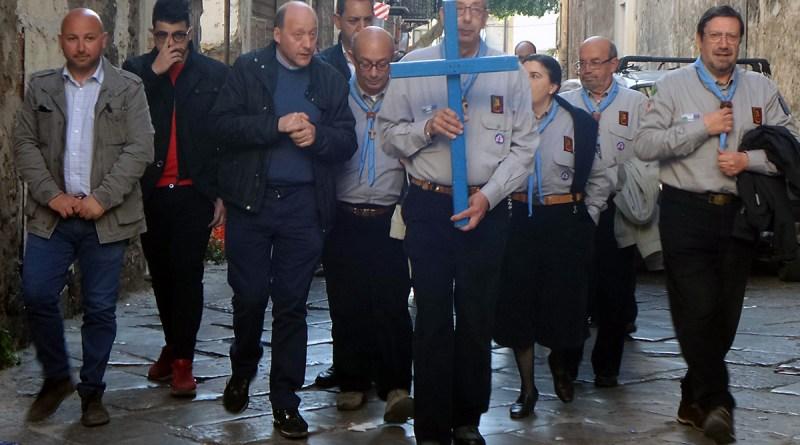 La processione della Croce di Lampedusa a Palermo