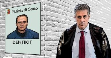 Il latitante Matteo Messina Denaro e il magistrato Nino Di Matteo