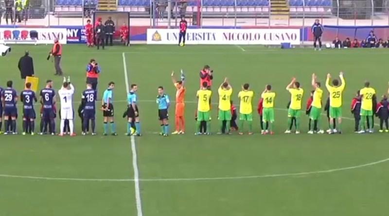 Fondi contro Messina di Lega Pro