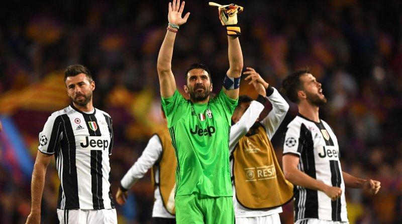 Buffon e la Juventus in semifinale di Champions