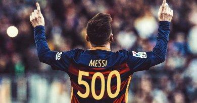 Messi 500 gol