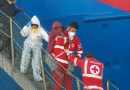 Catania, sbarcata la nave Diciotti con 932 migranti. Sull'imbarcazione anche due cadaveri