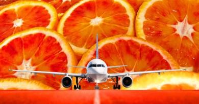 aeroplano sulla pista di un aeroporto
