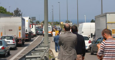 incidente autostrada Palermo-Mazara traffico