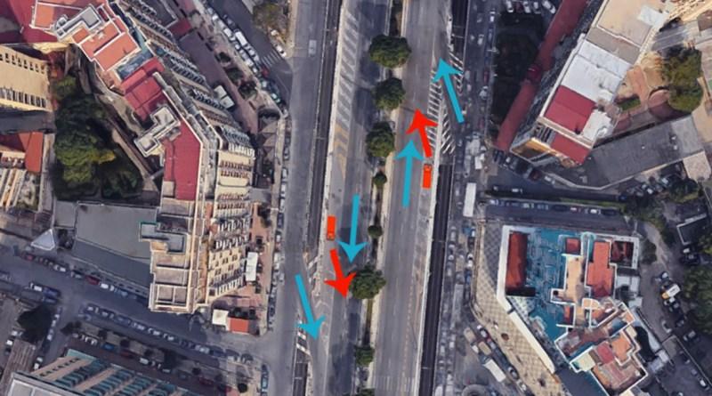 Terza corsia per i mezzi pesanti in circonvallazione di Palermo