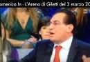 Le Province seppellite in diretta Tv dall'Arena di Giletti