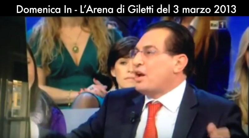 Crocetta a L'Arena di Giletti promette l'abolizione delle Province siciliane