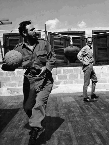 Fidel Castro e Giangiacomo Feltrinelli nel 1964