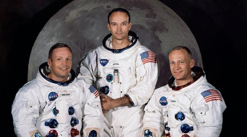 L'equipaggio dell'Apollo 11: Armstrong, Aldrin e Collins