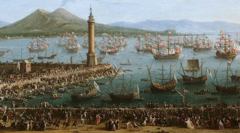 Partenza di Carlo III per la Spagna