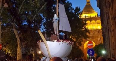 """""""Palermo Bambina"""", l'esaltazione dell'infanzia e dei bambini sarà il tema del 394° Festino di Santa Rosalia.Pubblicato il bando, tutti i dettagli carro e statua Santa Rosalia"""