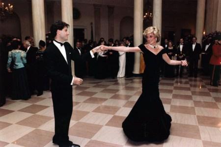 John Travolta e la Principessa Diana alla Casa Bianca