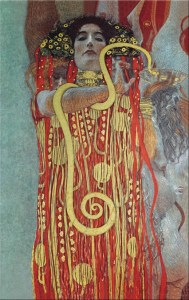 Medicina di Gustav Klimt (particolare)