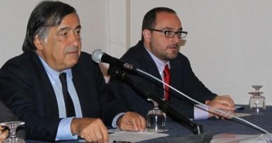 Leoluca Orlando e Giusto Catania